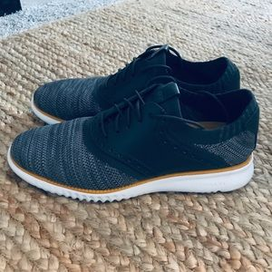 ZeroGrand Cole Haan Gray Dress-Casual Shoes